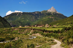De nippende berg van Raza Stock Afbeeldingen