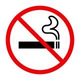 De no fumadores cante ilustración del vector