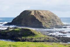 De Nobbies-rotsvorming, Phillip Island, Australië Stock Foto