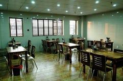 De noedel het dineren zaal Stock Foto