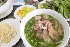 De noedel PHO van Vietnam Stock Foto