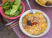 De noedel van Vietnam Stock Foto
