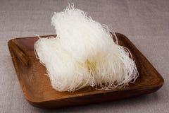 De Noedels van de rijst stock fotografie