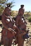 De Nomadische stam van Himba - Namibië Royalty-vrije Stock Fotografie