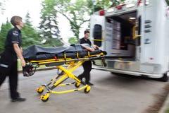 De Noodsituatie van de ziekenwagen Stock Foto