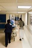 De noodsituatie van het ziekenhuis Stock Afbeelding