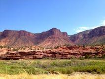 De bergen van New Mexico Stock Afbeelding
