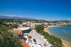 De noordelijke kust van Kreta Stock Afbeeldingen