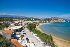 De noordelijke kust van Kreta Royalty-vrije Stock Afbeelding