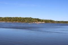 De noordelijke rivier van Manitoba Stock Fotografie