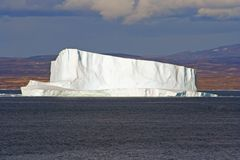 De Noordpoolijsberg van Groenland Royalty-vrije Stock Foto's
