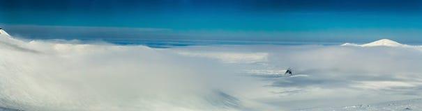 De noordpoollente in zuiden Spitsbergen Stock Foto