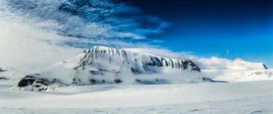 De noordpoollente in zuiden Spitsbergen Royalty-vrije Stock Foto
