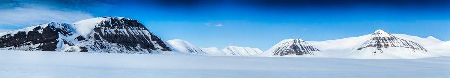 De noordpoollente in zuiden Spitsbergen Stock Afbeelding