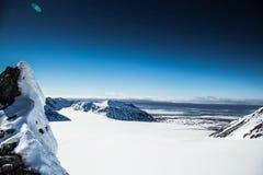 De noordpoollente in zuiden Spitsbergen Royalty-vrije Stock Foto's