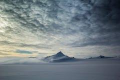 De noordpoollente in zuiden Spitsbergen Royalty-vrije Stock Afbeeldingen