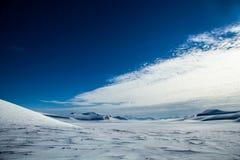 De noordpoollente in zuiden Spitsbergen Royalty-vrije Stock Afbeelding