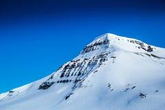 De noordpoollente in zuiden Spitsbergen Stock Foto's