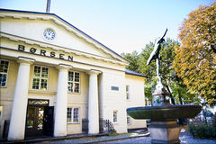 De Noorse beursdaling van 2009 stock foto's