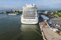 De Noorse Ontsnapping van het cruiseschip royalty-vrije stock afbeeldingen