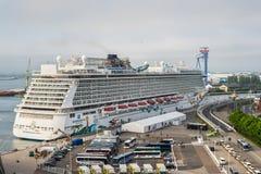 De Noorse Ontsnapping van het cruiseschip royalty-vrije stock afbeelding