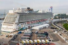 De Noorse Ontsnapping van het cruiseschip stock foto's