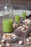 De nootlikeur van de pistache royalty-vrije stock afbeeldingen