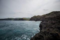 De norr kusterna av Maui Royaltyfria Bilder