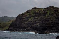 De norr kusterna av Maui Arkivbild