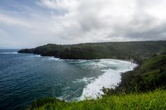 De norr kusterna av Maui Hawaii Royaltyfri Bild