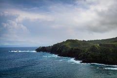 De norr kusterna av Maui Hawaii Royaltyfria Foton