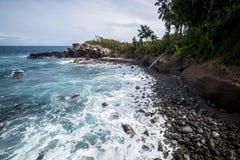 De norr kusterna av Maui Hawaii Royaltyfri Foto