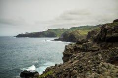 De norr kusterna av Maui Hawaii Royaltyfria Bilder