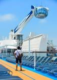 De NorthStar-observatietoren op cruise stock fotografie