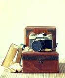 De nostalgie van de reis stock foto's