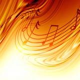 De nota's van de muziek Royalty-vrije Stock Fotografie