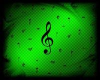 De nota's van de muziek Royalty-vrije Stock Foto