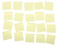 De nota's van de post-it stock fotografie