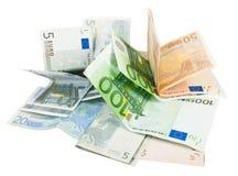 De nota's van Europa stock foto's