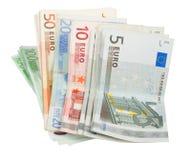 De nota's van Europa royalty-vrije stock foto's