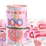 De nota's van Yuan. De Munt van China Royalty-vrije Stock Afbeelding