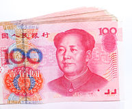 De nota's van Yuan. De Munt van China Stock Afbeeldingen