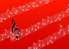 De nota van de muziek stock illustratie