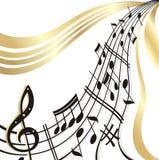 De nota van de muziek. Royalty-vrije Stock Foto's
