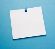 De nota van de post-it stock foto's