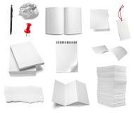 De nota van het document vector illustratie