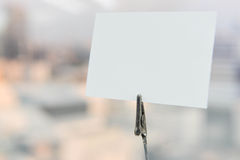 De nota van het document Stock Fotografie
