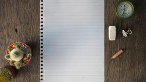 De nota van het document Royalty-vrije Stock Afbeeldingen
