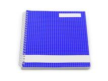 De notaboek van de school royalty-vrije stock fotografie