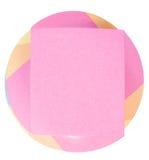 De notadocument van de kleur blok Stock Foto's